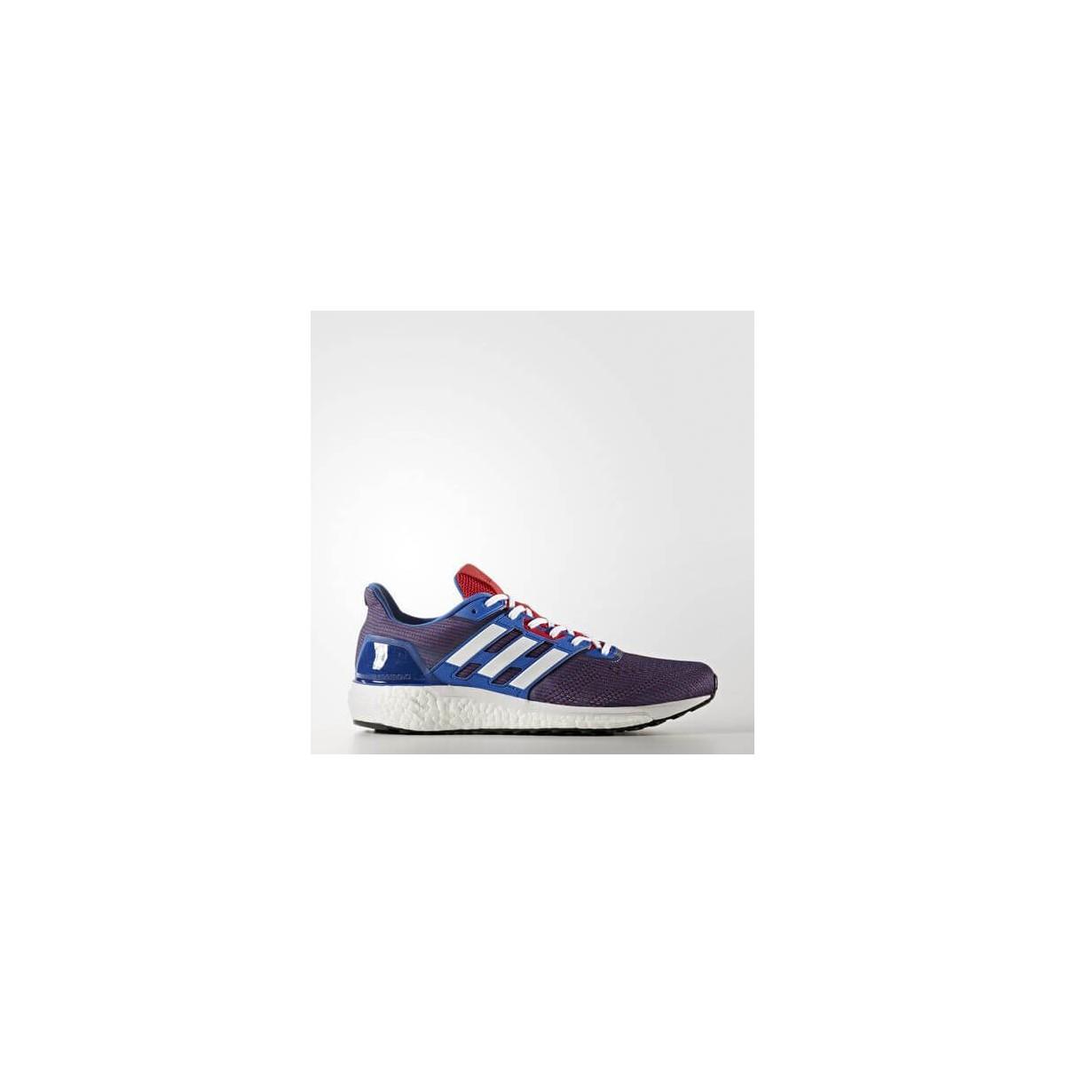 Zapatillas Adidas rojo y running azul Hombre Supernova OI17 clFJT13K