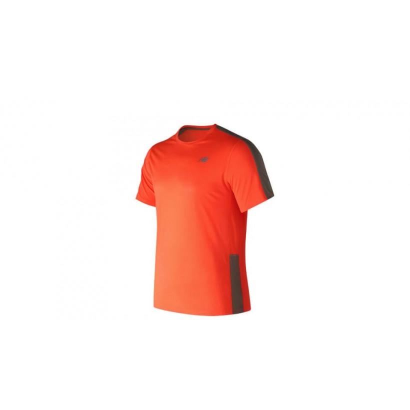 Camiseta New Balance Accelerate Sleeve naranja