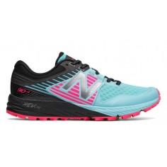 Zapatilla New Balance 910V4 Trail rosa y azul Mujer OI17