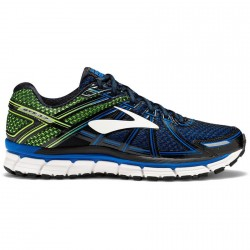 Zapatillas Brooks Adrenaline GTS 17 azul/verde OI17