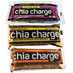 Chia Charge Barrita Energetica de Cereales (Original, plátano o Arándanos