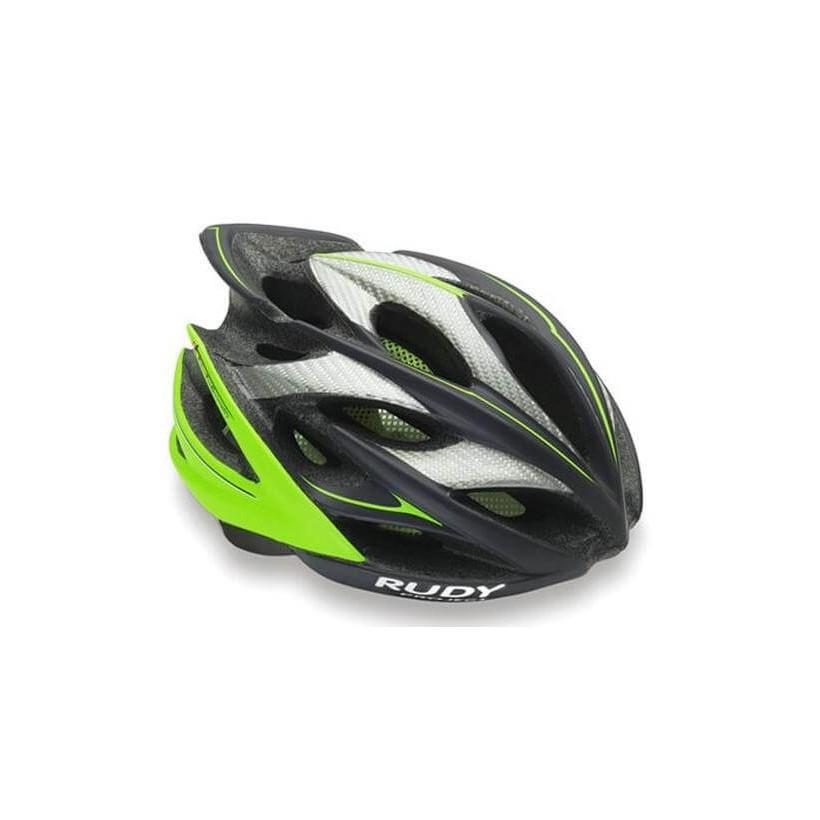 Casco Rudy Project Windmax Graphite Lima Fluo
