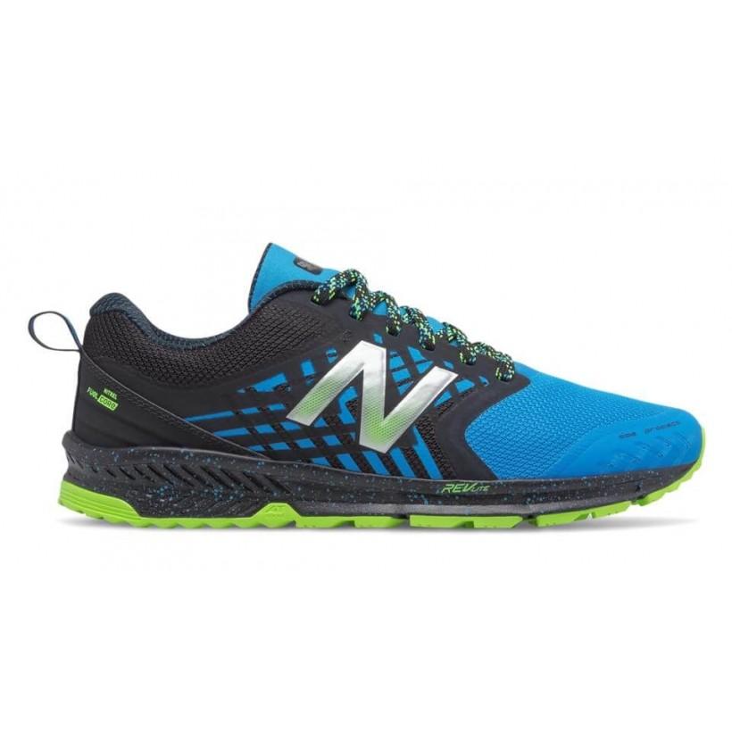 928ea6209ba Zapatillas Trail New Balance FuelCore Nitrel Azul y verde OI17 - 365 ...