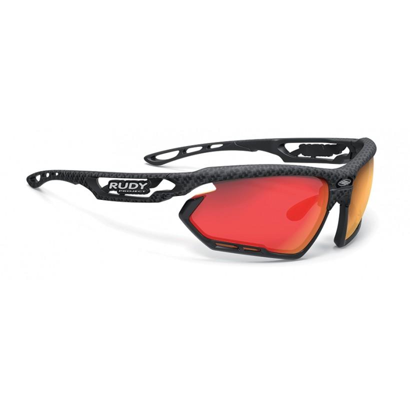 Gafas Fotonyk Rudy Project Carbonium Multi LS Red, Black Bumpers