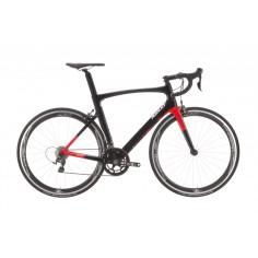 Bicicleta Ridley Noah Shimano 105 Negro y Rojo