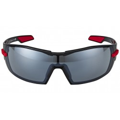 Gafas ciclismo Kask Koo negro/rojo smoke