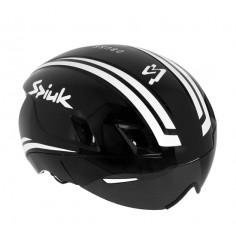 Casco ciclismo Spiuk Obuss negro y blanco