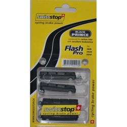 Zapatas SwissStop Flash Carbono - Black Prince de carretera