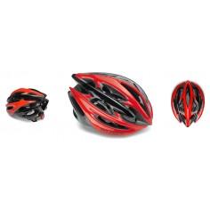 Rudy Project Sterling + Rojo Negro Brillante Casco Ciclismo