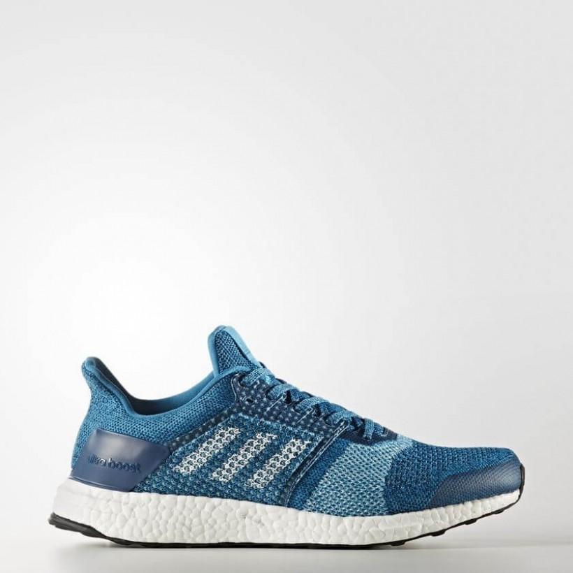 online store 9c8e3 3a694 Zapatillas adidas Ultra Boost ST azul gris blanco