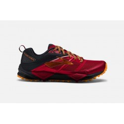 Zapatillas de trail Brooks Cascadia 12. Color Rojo/negro