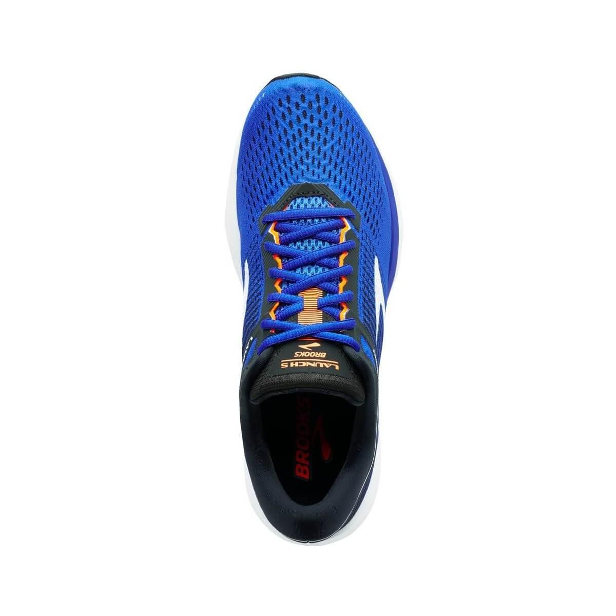 f955ea43313 ... Zapatillas Brooks Launch 5 Azul Negro Naranja Hombre PV18 ...