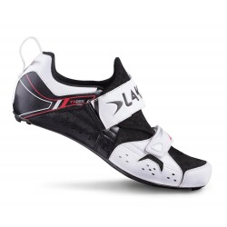 Zapatillas Lake Triatlon TX222 carbono Blancas y negras