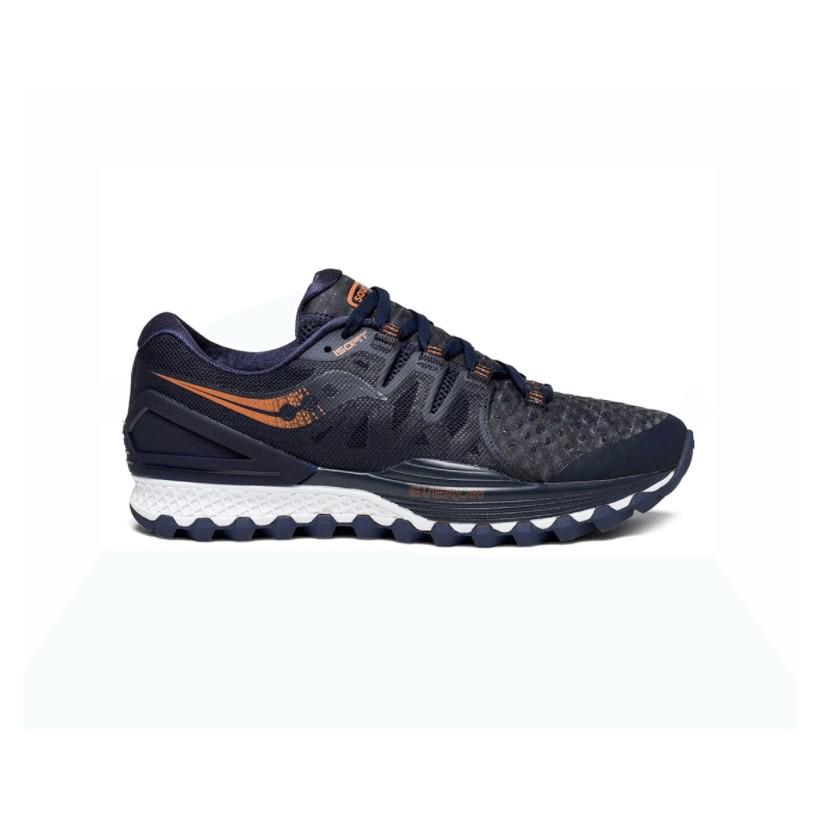 73ced0a523a Zapatillas Saucony Xodus ISO 2 Azul marino y cobre Hombre PV18 - 365 ...