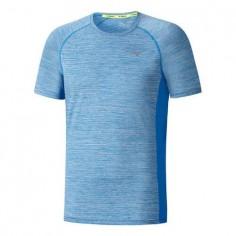 Camiseta Mizuno Alpha Tee Azul Hombre