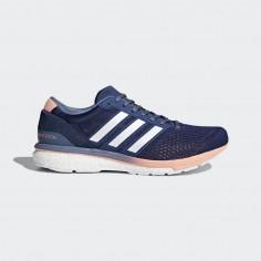 Zapatillas Adidas Boston 6 azul y blanco Mujer PV18