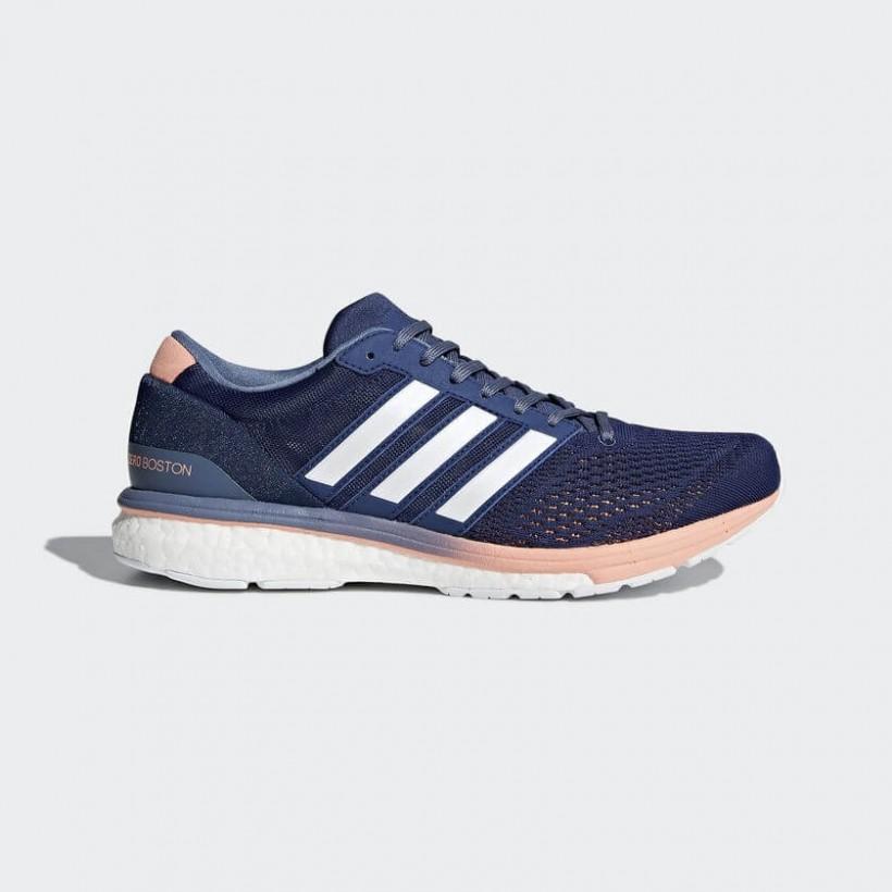 Zapatillas Adidas Boston 6 azul y blanco Mujer PV18 - 365 Rider 5c9e5d188d671