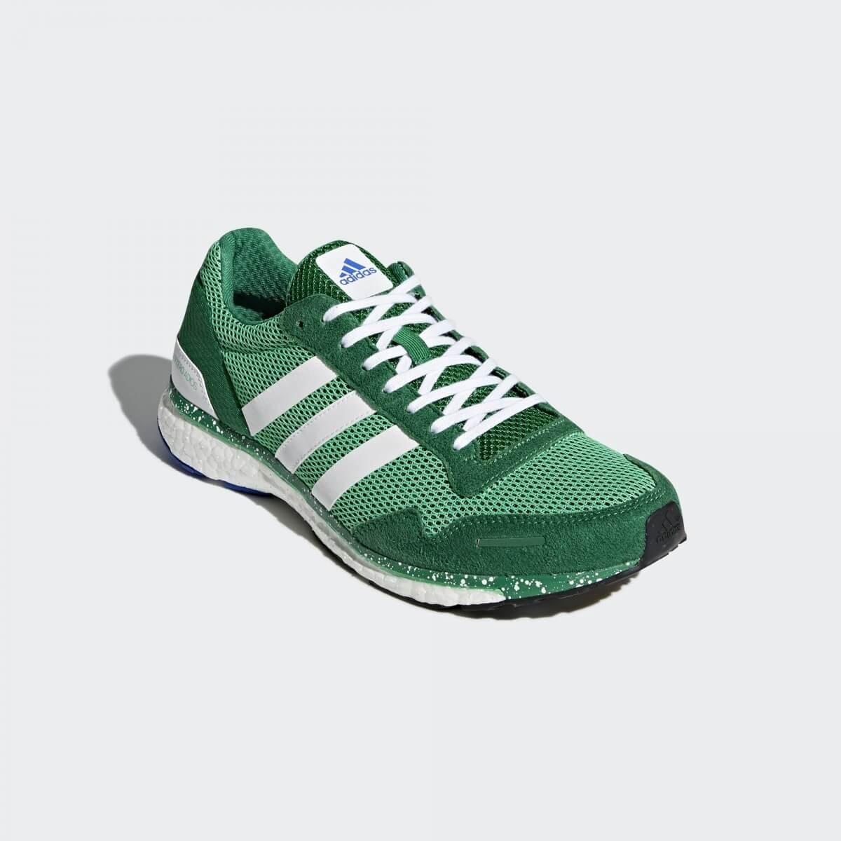 adidas adizero verdes y blancas