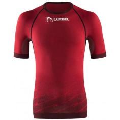 Camiseta running Lurbel Challenge Rojo/Negro