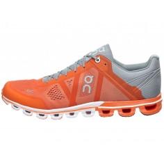 Zapatillas ON Cloudflow Naranja/Gris PV18