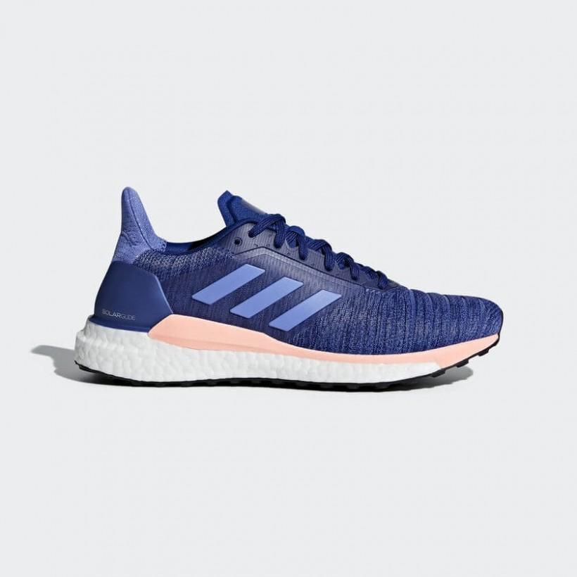 Etapa Censo nacional cien  Adidas Solar Glide Mujer Azul OI18 - 365 Rider