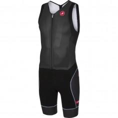 Castelli Integral San Remo sleeveless trisuit. Black