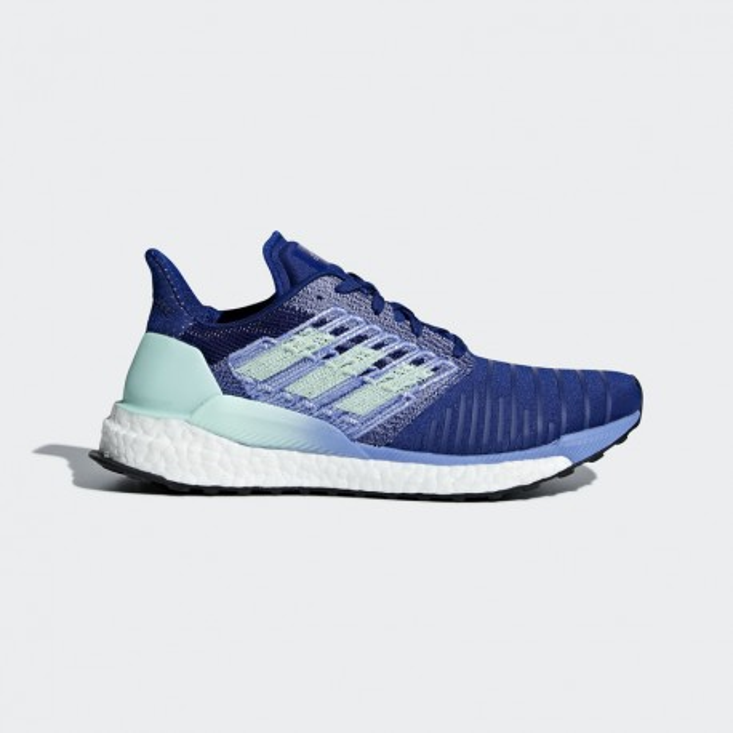zapatillas mujer azul adidas