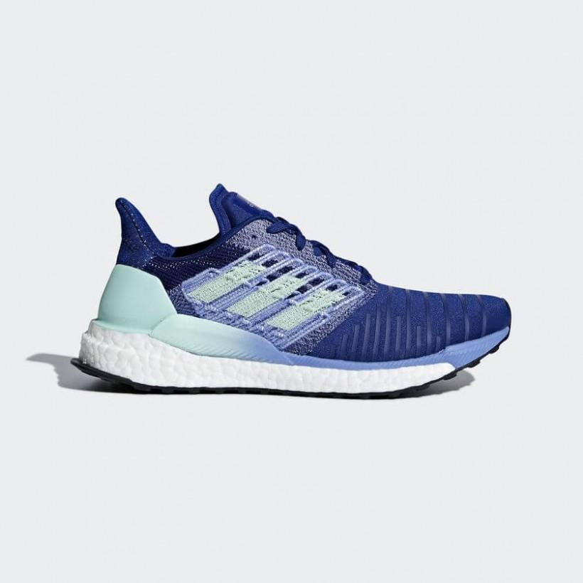 Zapatillas Adidas Solar Boost Azul Mujer