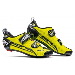 Zapatillas Sidi T4 Air Carbon Amarillo Flúor Negro