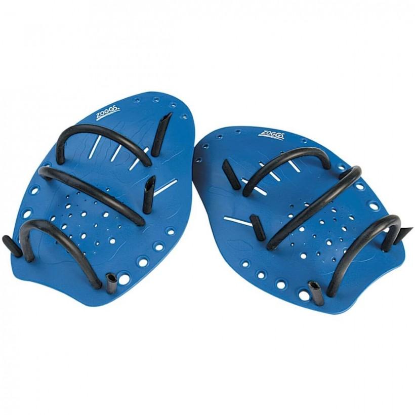 Palas Grandes de Zoggs Matrix Hand Paddles en azul