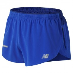 Pantalón corto New Balance Azul impact split 3in hombre