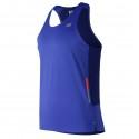 Camiseta New Balance Ice 2.0 sin mangas azul hombre