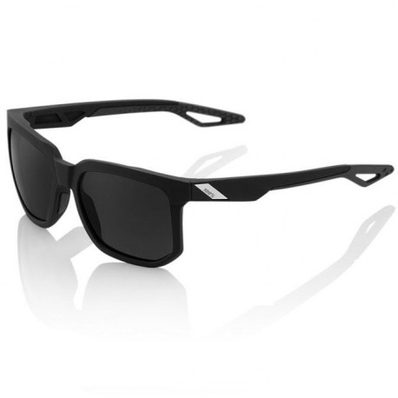 Gafas 100% Centric Negro Mate Lente Ahumada