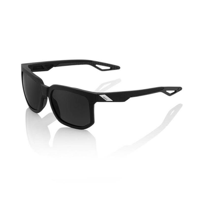 Glasses 100% Centric Matte Black Smoked Lens
