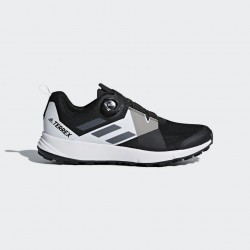 Zapatillas Adidas Terrex Two Boa Trail Negro Blanco