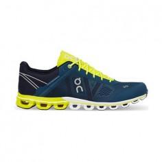 Zapatillas ON Cloudflow Azul/Neón OI18