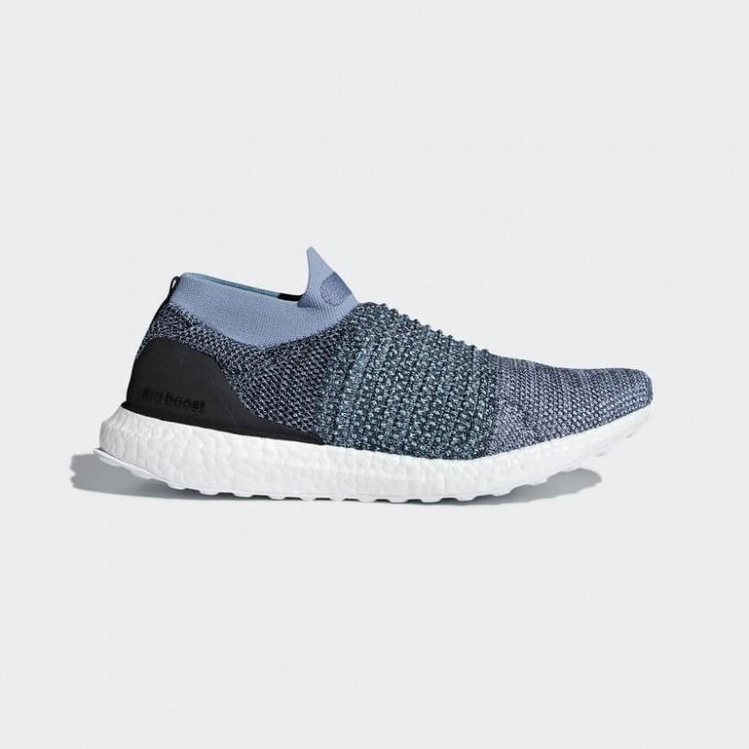 Adidas Ultra Boost Laceless Parley Azul
