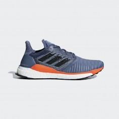 Zapatillas Adidas Solar Boost Tinta Azul/Naranja OI18