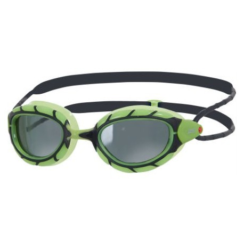 Gafas de natación Zoggs Predator Polarized verde/negro