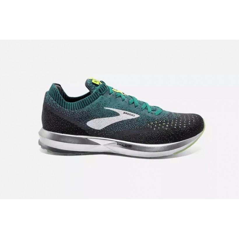 online store bc9ad 2dafd Brooks Men´s Levitate 2 Black/Green running shoes.