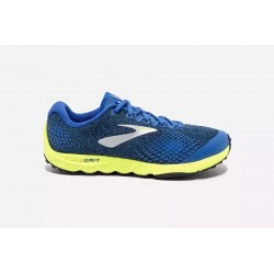 Zapatillas de Trail Brooks PureGrit 7 Azul/Lima OI18