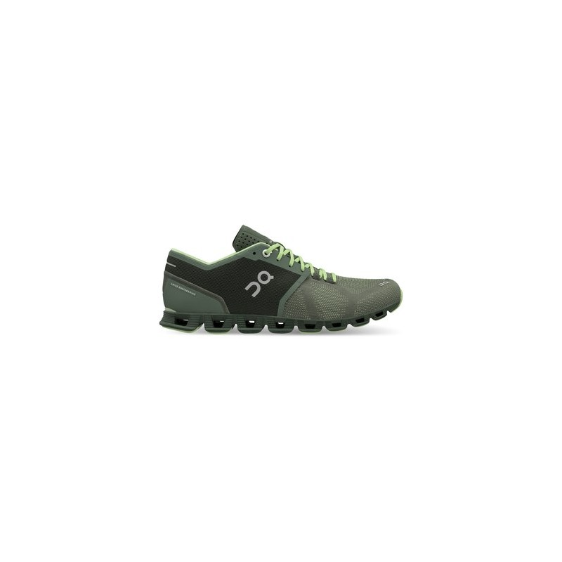 size 40 9dc57 6a849 ON Cloud X Running Shoes Green Forest/Jungle