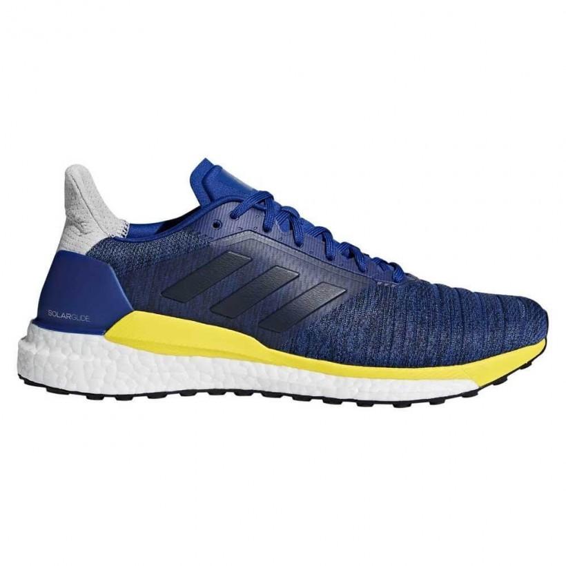 zapatillas adidas hombres azules