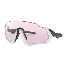 Gafas Oakley Flight Jacket Matte Grey Carbon Prizm Low Light