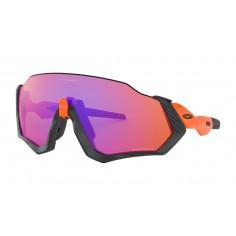 Gafas Oakley Flight Jacket Matte Black/Neon Orange Przm Trail