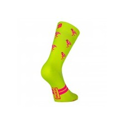 Calcetín Sporcks Flamingo Yellow