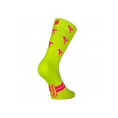 Sporcks Flamingo Yellow Sock