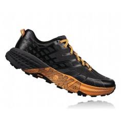 Zapatillas Trail Hoka One One SpeedGoat 2 OI18 Gris/Negro Hombre