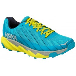 Zapatillas Hoka One One Torrent OI18 Cian/Citrus Trail Hombre