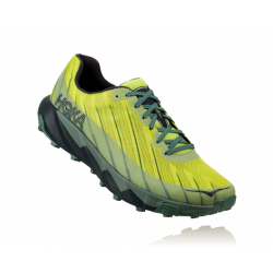 Zapatillas Hoka One One Torrent OI18 Lima/Verde Trail Hombre